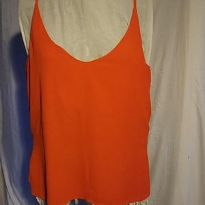 H& M orange blouse